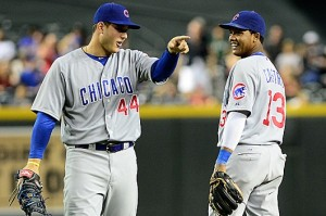 "Starlin Castro and Anthony Rizzo are the only ""big names"" that the Cubs have to offer for the 2014 season."