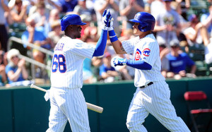 Star rookies Jorge Soler (left) and Javier Baez have propelled the Cubs to a winning month of August and have given the organization something to look forward to in the coming years.