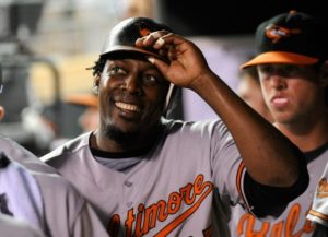 Vladimir Guerrero (pictured) will appear on the ballot for the first time in 2017, alongside prospective inductees Tim Raines and Ivan Rodriguez.